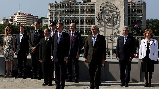 هاموند أول مسؤول بريطاني يزور كوبا منذ 1959