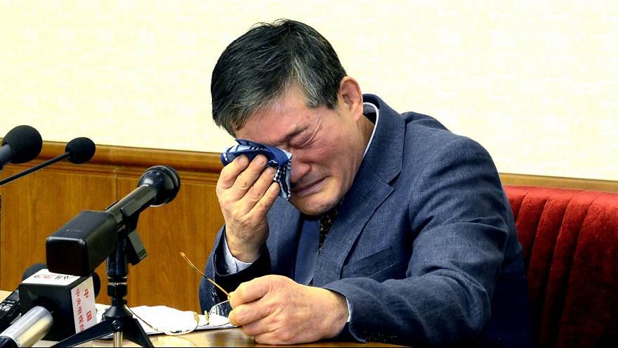 North Korea: US citizen given 10 years of hard labour for spying