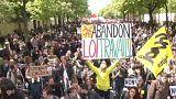 Megint eldurvult a tiltakozás Párizsban