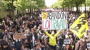 Affrontements en France en marge des manifestations contre la loi travail