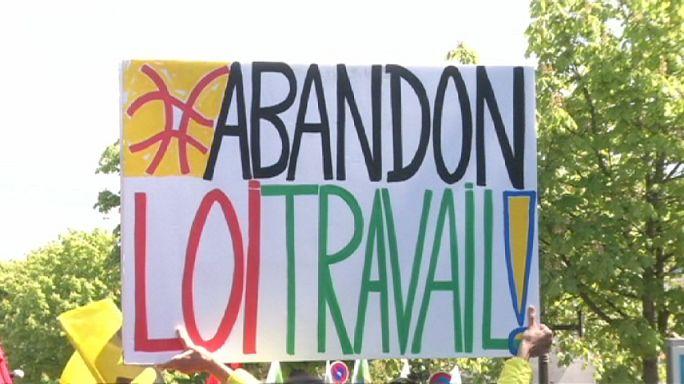 Франция: протестные акции и аресты