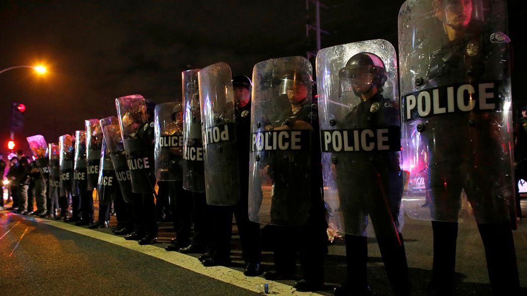 Presidenziali Usa, 20 arresti in California per disordini durante comizio di Trump