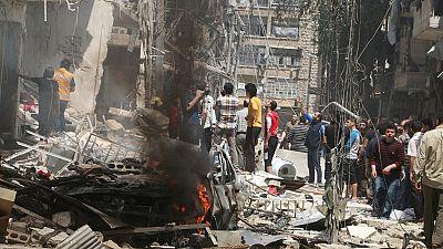 Alep se trouve dans un état catastrophique