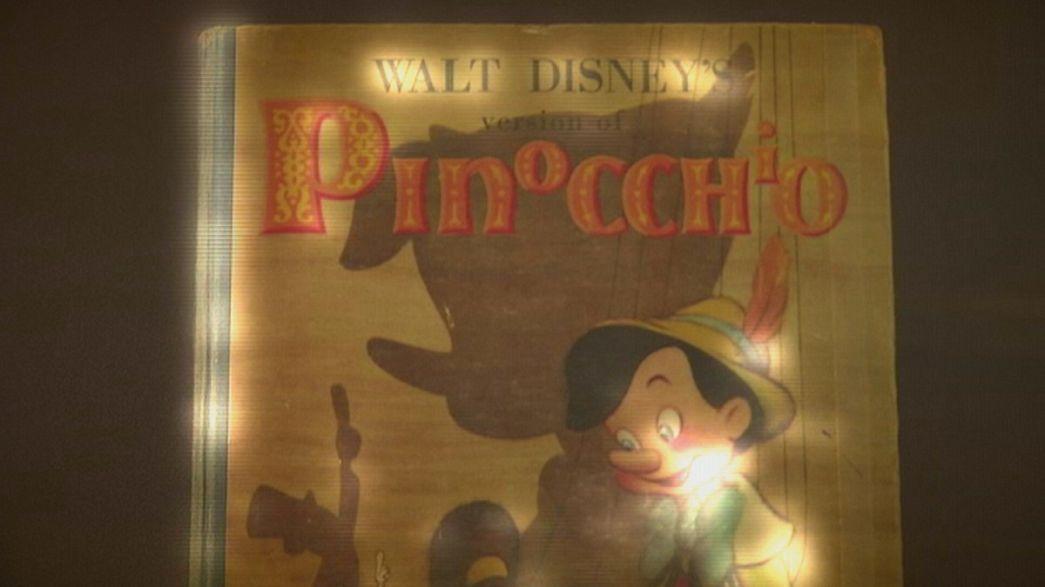"""Museu da Disney apresenta exposição sobre segredos do filme de animação """"Pinóquio"""""""