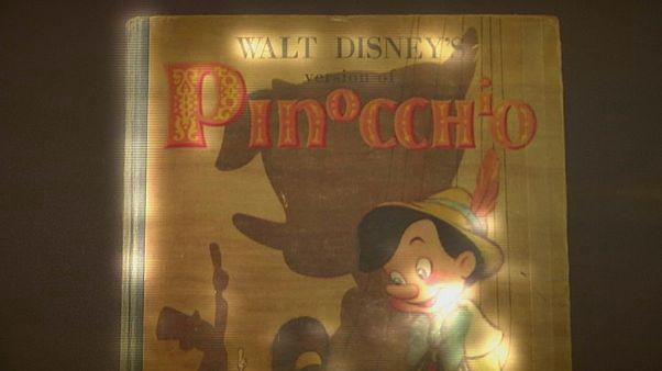 Pinokkió-kiállítás a Walt Disney Családi Múzeumban