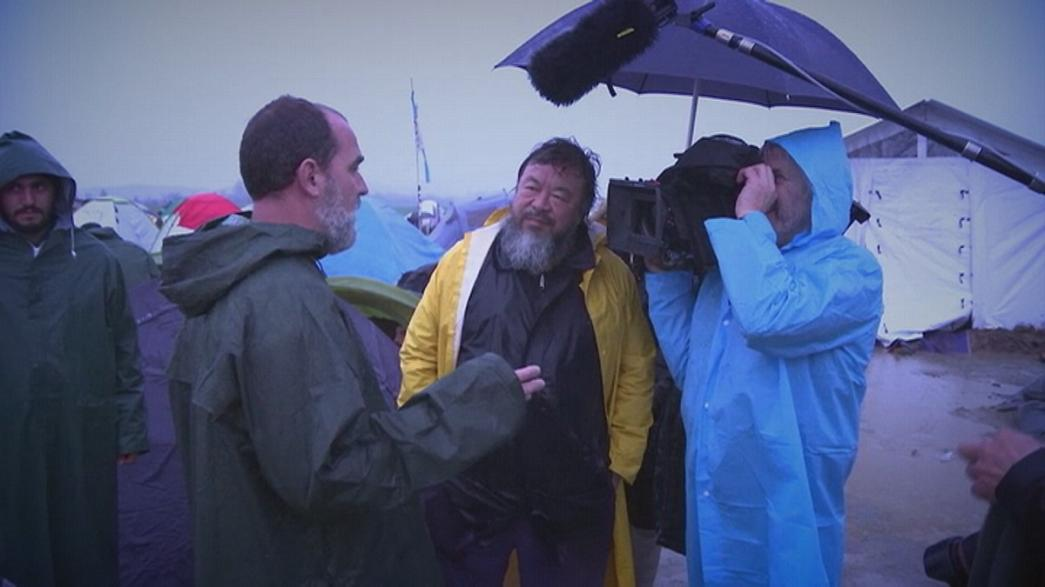 Aj Vej-vej filmet forgat a menekültválságról