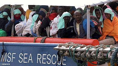 Rota de migrantes por Itália preocupa Europa