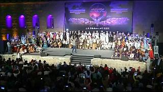 Egypt celebrates the international drums and arts festival of Cairo