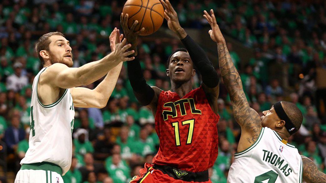 NBA: Hawks vencem Celtics por 104-92 e estão nas semi-finais