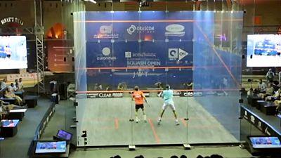 Squash: Mohamed el-Shorbagy e Gregory Gaultier, na final dos mundiais de el-Gouna