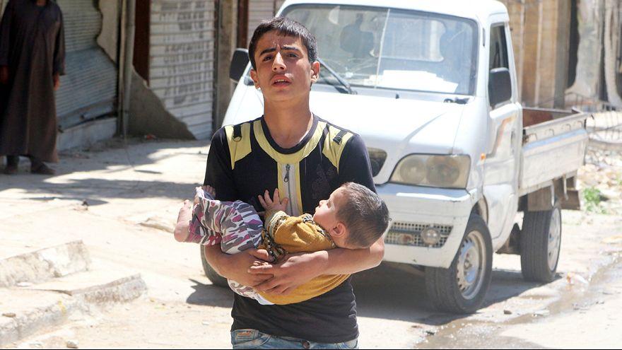 Syrie : le régime poursuit ses raids meurtriers sur Alep