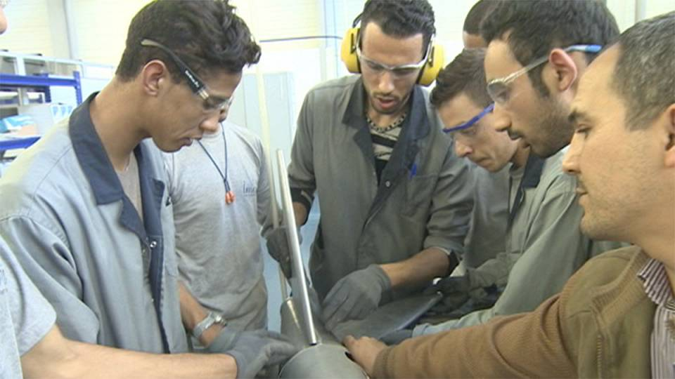 Marokkos Luftfahrtindustrie im Aufwind