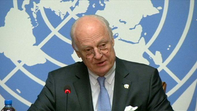مسلسل الهدنة والمحادثات في سوريا