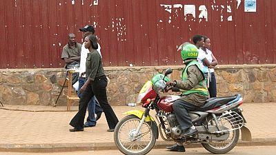 Rwanda : une application pour la sécurité du transport à motos
