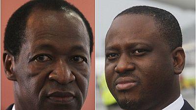 Guillaume Soro et Blaise Compaoré sous la menace d'un nouveau mandat d'arrêt