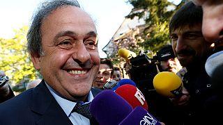 Platini se muestra confiado tras declarar ante el Tribunal de Arbitraje Deportivo