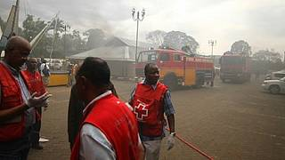 Dozens trapped after building collapses in Nairobi