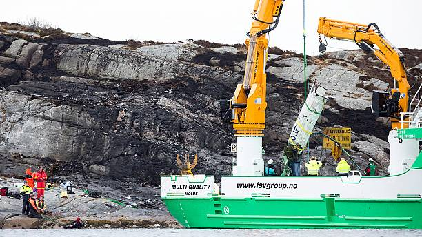 Norwegian helicopter crash victims all presumed dead