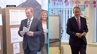 İrlanda'da iki büyük parti azınlık hükümeti için anlaştı