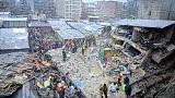 قتلى وجرحى اثر انهيار مبنى في نيروبي