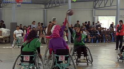 Women's wheelchair basketball in Afghanistan – nocomment