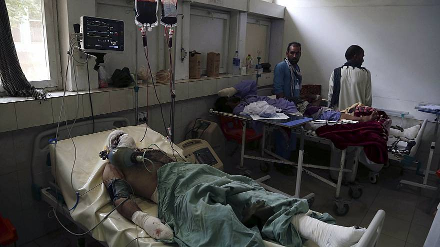 Image: Two suicide bombs target girl's schools in Jalalabad