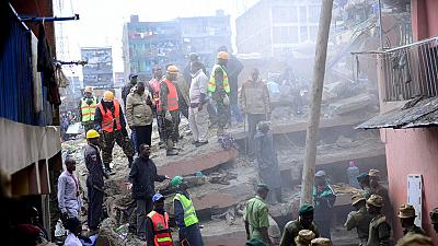 Over 120 survivors rescued from Kenya building collapse