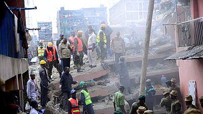 Effondrement d'un immeuble au Kenya : 102 survivants secourus