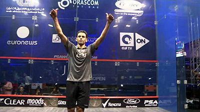 Squash, El Gouna: El Shorbagy non tradisce le aspettative, battuto Gaultier
