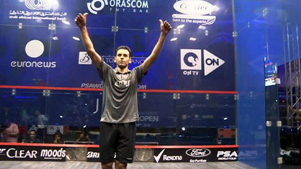 Squash: Muhammed Elshorbagy zirveden inmiyor