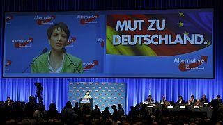 احتجاجات ضد حزب البديل الشعبوي في ألمانيا