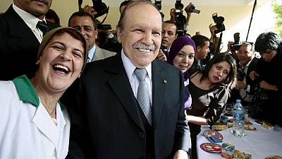 Algeria's Bouteflika back in the country after medical visit