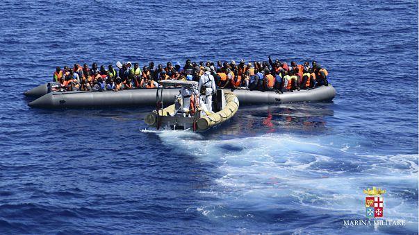 Göçmenler rotayı İtalya'ya çevirdi