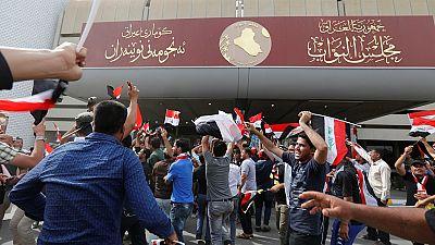 Irak : le Parlement envahi par des manifestants en colère