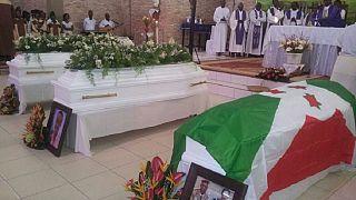 Burial held for Burundian General killed by gunmen