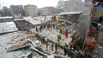 Death toll from collapsed Kenyan building climbs to 12