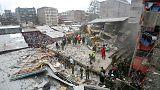 ارتفاع عدد ضحايا حادث انهيار مبنى في نيروبي إلى 12 قتيلا