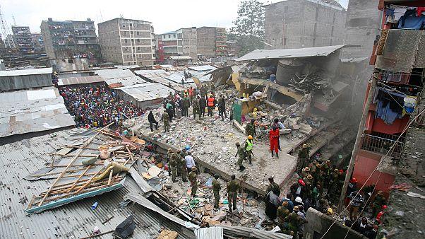افزایش تلفات ناشی از فرو ریختن ساختمان در پایتخت کنیا