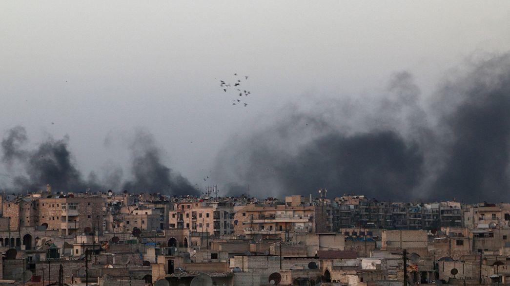 Syrie : un arrêt des combats espéré à Alep