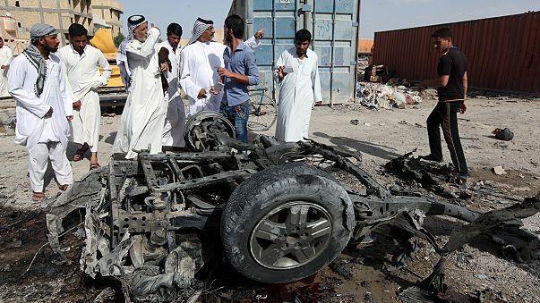 Kettős merénylet Dél-Irakban