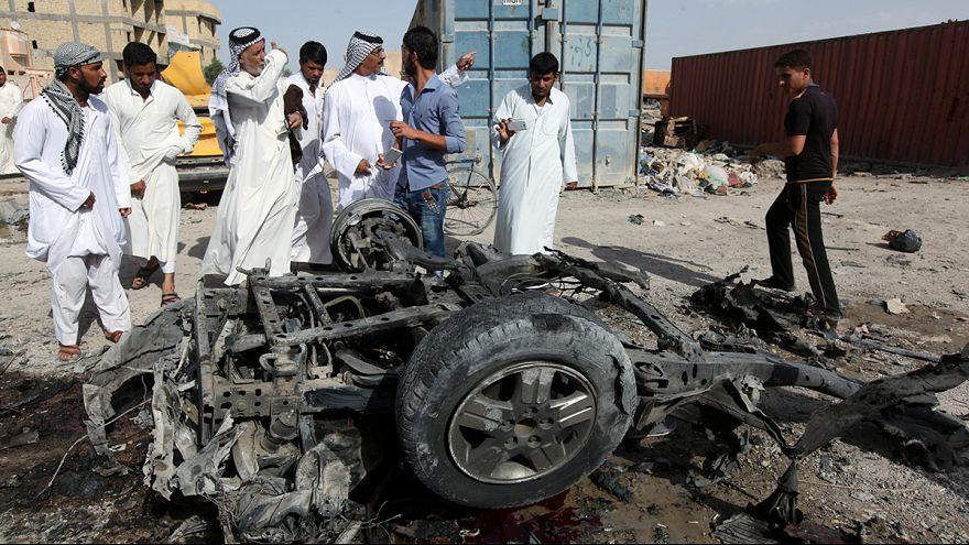 عشرات القتلى والجرحى بسبب هجومين تفجيريين في العراق