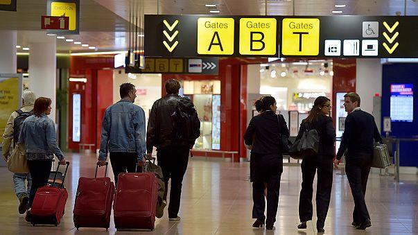 Брюссельский аэропорт частично открыл зал вылета