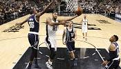 Spurs open up playoff by thrashing the Thunder