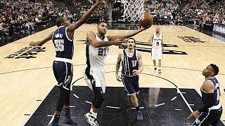 NBA : San Antonio écrase Oklahoma City