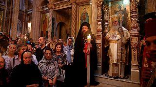 Cristianos ortodoxos de todo el mundo celebran la Pascua