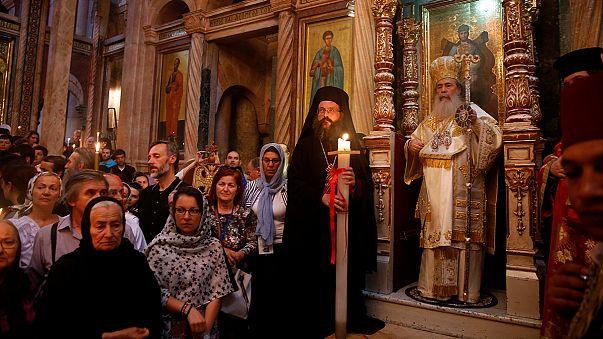 Ortodoks dünyası Paskalya'yı kutluyor