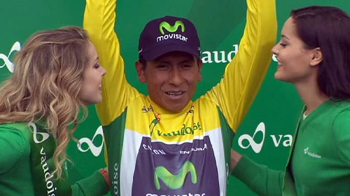 Romandie Bisiklet Turu: Nairo Quintana zirveyi kaptırmadı