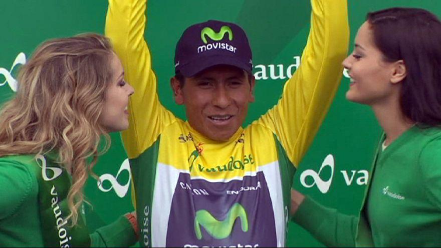 Quintana wins Tour de Romandie as Albasini sprints to final stage honours