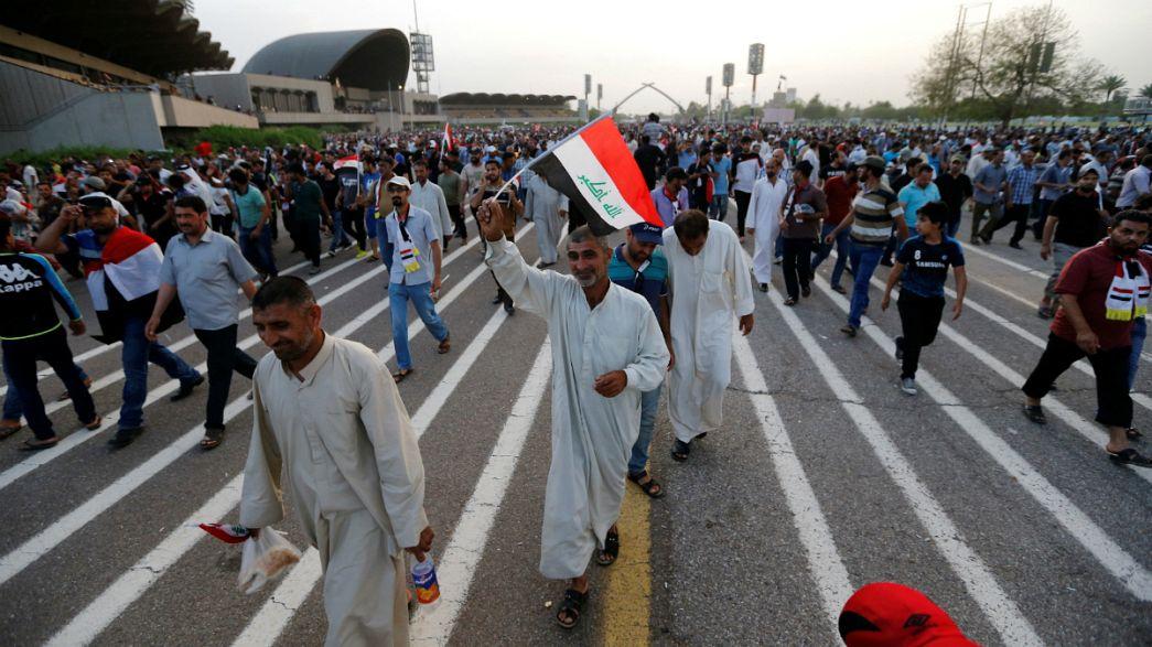 """Багдад: демонстранты покинули """"зеленую зону"""", выдвинув свои требования"""