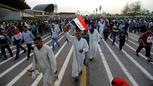 Baghdad protesters leave Green Zone but vow to keep up pressure over corruption